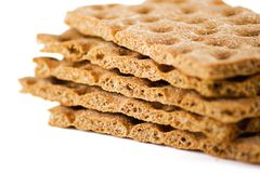 Swedish crispbread Stock Photos