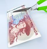 Swedish crowns. Swedish currency Stock Photos