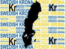 Swedish currency Royalty Free Stock Images