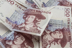 Swedish currency, 500 Kronor Royalty Free Stock Photo