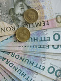 Swedish currency notes Royalty Free Stock Photography
