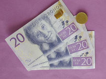 Swedish currency notes Stock Photography