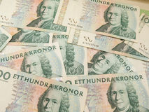 Swedish currency notes Stock Photos