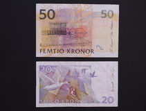 Swedish currency Stock Photography