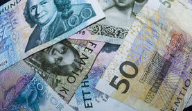 Swedish currency Royalty Free Stock Photography