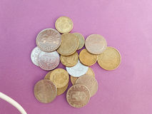 Swedish and Danish coins Stock Photos