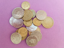 Swedish and Danish coins Stock Photo