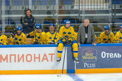 Swedish defender Christian Due-Boje (5) Royalty Free Stock Image