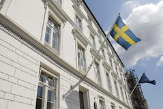 SWEDISH EMBASSY Stock Photos