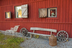 Swedish farmhouse Stock Photography