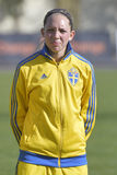Swedish female football player - Elin Rubensson Royalty Free Stock Image