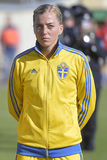 Swedish female football player - Linda Sembrant Royalty Free Stock Photography
