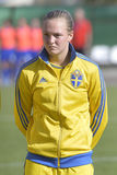 Swedish female football player - Magdalena Ericsson Royalty Free Stock Photography