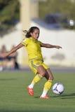 Swedish female football player - Malin Diaz Stock Images