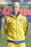 Swedish female football player - Nilla Fischer Stock Photography