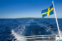 Swedish ferry trip Stock Image