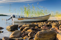 Swedish fishing scenery Stock Images