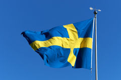 Free Swedish Flag Royalty Free Stock Images - 26100489