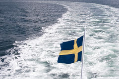 Swedish Flag Royalty Free Stock Images