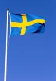 Swedish flag Royalty Free Stock Images