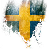 Swedish flag Stock Image