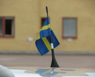 Swedish Flag of Sweden Stock Photos