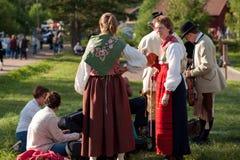 Swedish folk music festival Stock Photos