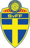 Swedish football association logo Stock Image