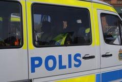 Swedish police Royalty Free Stock Photography