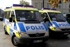 Swedish police Stock Photography