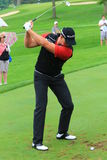Swedish golfer Henrik Stenson Taking a Shot Royalty Free Stock Photo