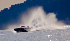 Swedish Grand Prix 2010, Speed. Photograph taken during the Class 1 Powerboat Championship held in Uddevalla Sweden, 2010 stock image