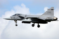 Swedish Gripen Stock Photo