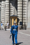 Swedish guard Royalty Free Stock Photo