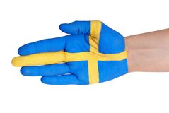 A swedish hand Royalty Free Stock Photo