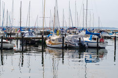 Swedish harbor Royalty Free Stock Images