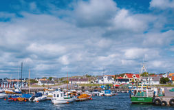 Swedish harbour. A swedish harbour in the south of Sweden Stock Image