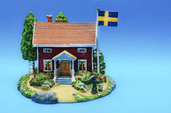 Swedish House Stock Photography