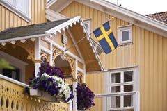 Swedish house Royalty Free Stock Photo