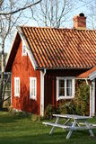 Swedish Houses Stock Photo
