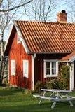 Swedish houses Stock Photo