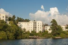 Swedish housing Blackeberg Royalty Free Stock Image