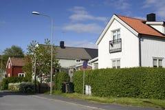 Swedish housing Royalty Free Stock Image