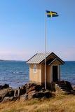 Swedish hut Royalty Free Stock Photos