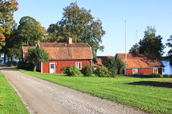 Swedish idyll Stock Photography