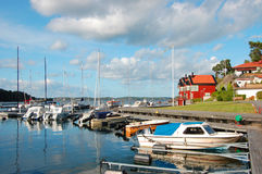 Swedish idyll Stock Images