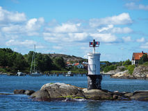 Swedish Islands from boat royalty free stock photography
