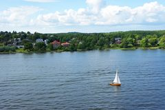 Swedish Islands in Summer royalty free stock photos