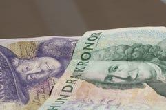 Swedish Krona. Currency on plain background Stock Images