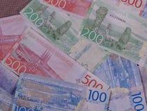 Swedish Krona notes, Sweden. Swedish Krona banknotes money SEK, currency of Sweden Stock Images